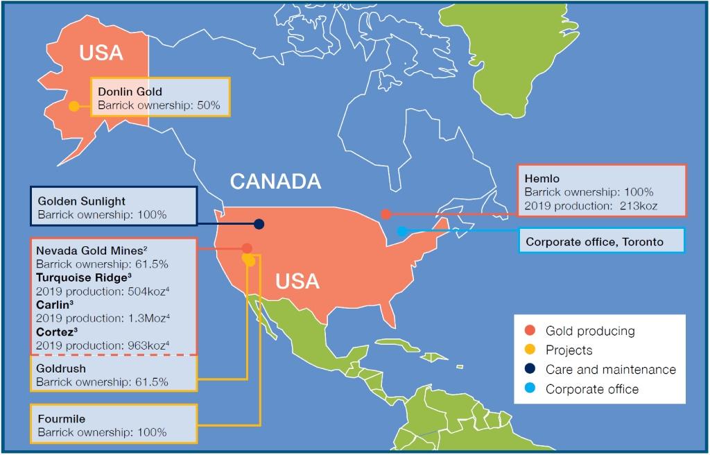 Barrick Gold Corporation Investors Annual Report North America