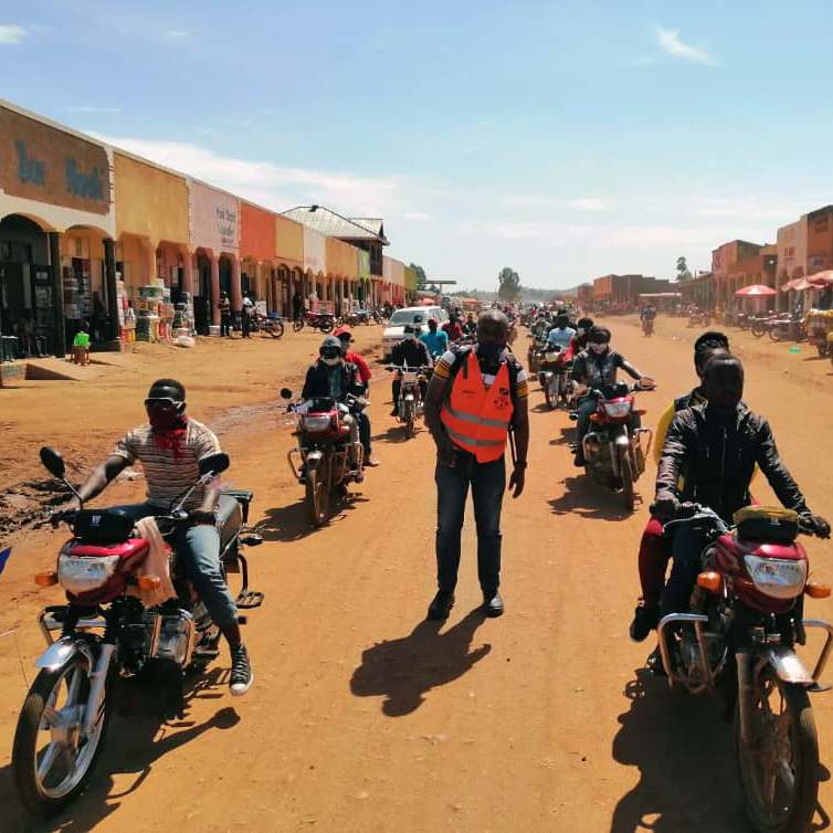 "The Kibali mine, located in the Democratic Republic of Congo, hosted a mini ""Motorcycle Rally"" on October 15 with support of the local motor-taxi associations, which coincided with Global Handwashing Day. The In-Reach Covid-19 public transport awareness campaign was designed to encourage the transport sector to become more involved and work together in the implementation of the Covid-19 preventative measures, whilst transporting passengers in the local region."