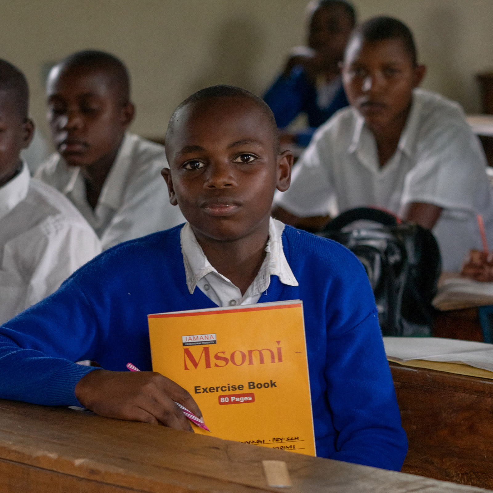 This school near the North Mara gold mine in Tanzania is supported by Barrick. Sustainability metrics such as stakeholder and community relations play a significant component in the remuneration models of all Barrick's employees.