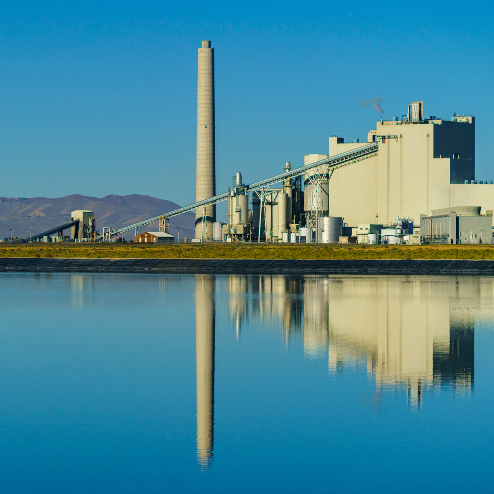 The TS coal fired power plant at Nevada Gold Mines is expected to be converted to run on cleaner natural gas, significantly reducing our GHG emissions.