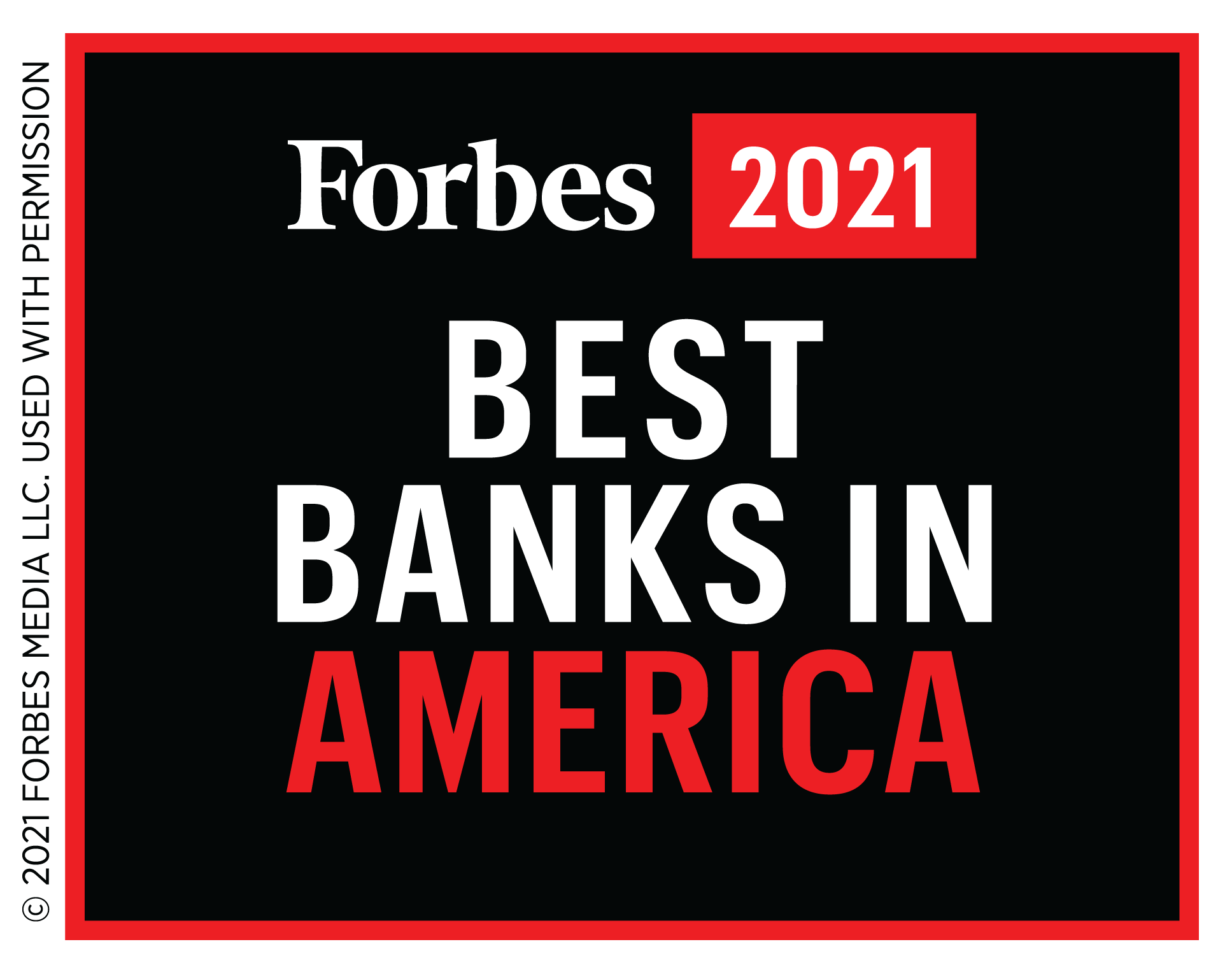 Forbes Best Banks 2021 Logo