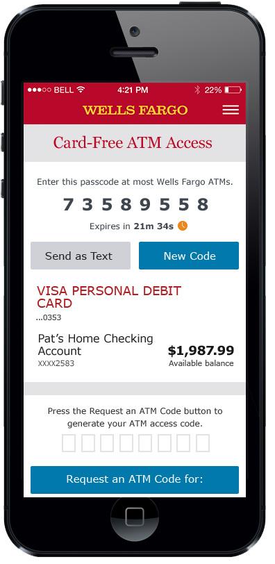 Wells Fargo Newsroom - Wells Fargo Launches 6,6 Card-Free ATMs